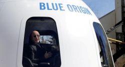 Lance de US$ 28 milhões vence vaga para acompanhar Bezos em viagem espacial